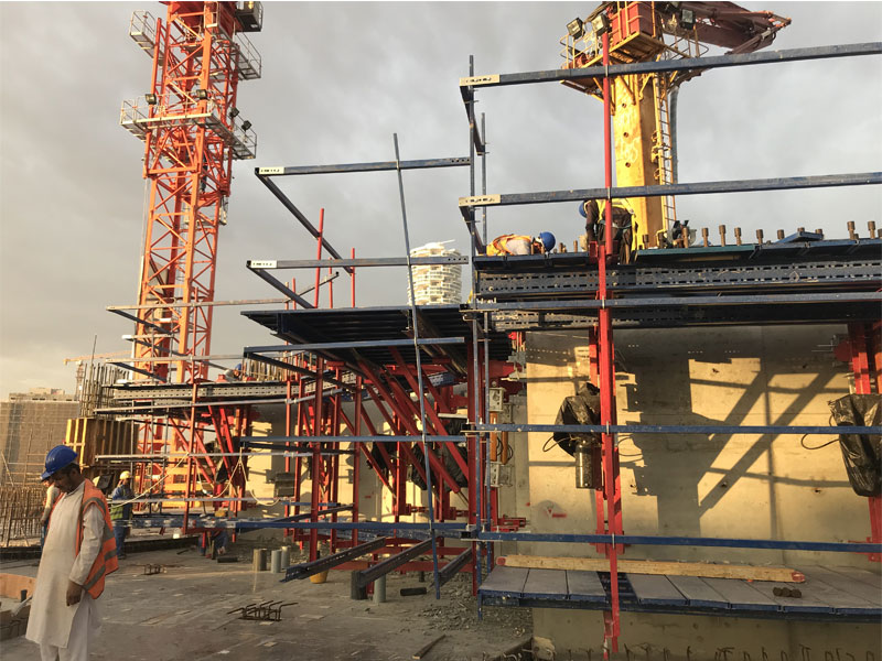 Type of Formwork for High Rise Building