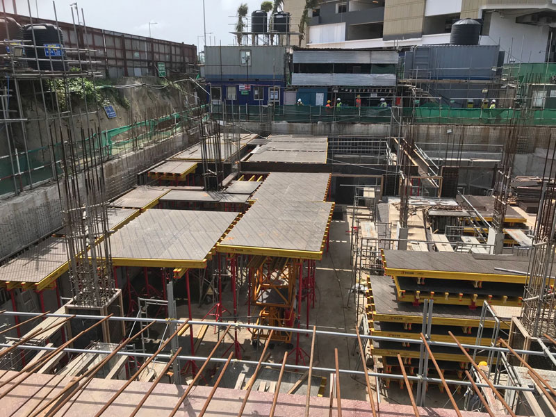 Formwork Stairs Construction